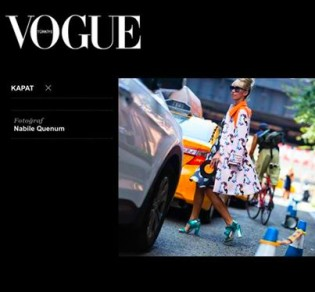 My looks featured in editorials - NY Fashion Week SS15