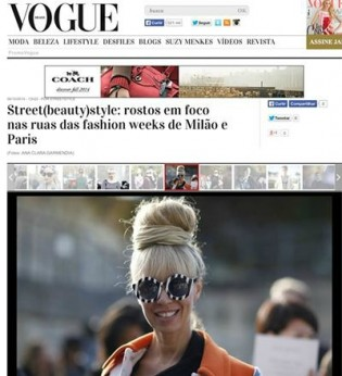 My looks featured in editorials - Paris Fashion Week Spring 2015: Part 1!