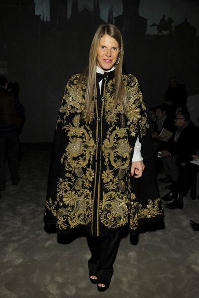 anna dello russo outfits with cape for 2014-f66264