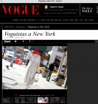 30 publications at NYFW15 in a day!